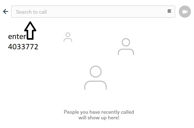 Pexip - Search to call